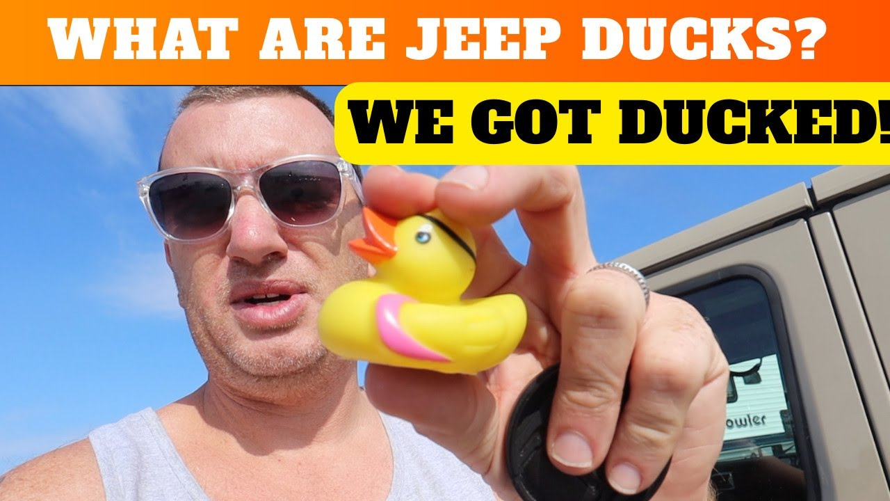 Download What is Jeep Ducking?!? We got DUCKED!