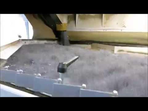 Čištění máku pneumatický stůl GA 310 CIMBRIA HEID Mohn sortierung Gewichtsausleser poppy sorting