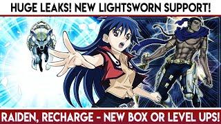 Yu-Gi-Oh! Duel Links   HUGE LEAKS! New Lightsworn Cards! Raiden! New Main Box or Blair Level Ups?!