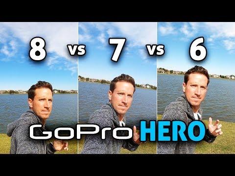 GoPro HERO 8 Vs 7 Vs 6! (4K)