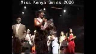 Miss Kenya Swiss 2006 & Kenya Swiss Society Gala Dinner 2006