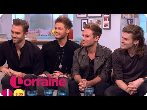 Lawson On Performing With Little Mix And Take That | Lorraine
