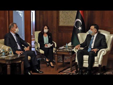 محادثات عسكرية وأمنية جديدة بين رئيس حكومة الوفاق ووزير الدفاع التركي …  - نشر قبل 9 ساعة