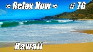 SANDY BEACH - HONOLULU BEACHES Oahu #76 Beaches Ocean Waves HD Hawaii Beach wave sounds nature