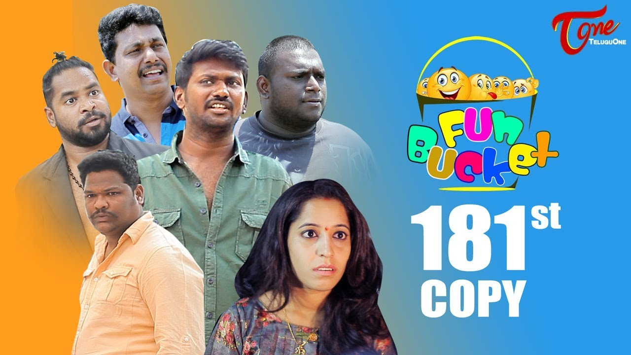 Fun Bucket | 181st Episode | Funny Videos | Telugu Comedy Web Series | Harsha Annavarapu | TeluguOne