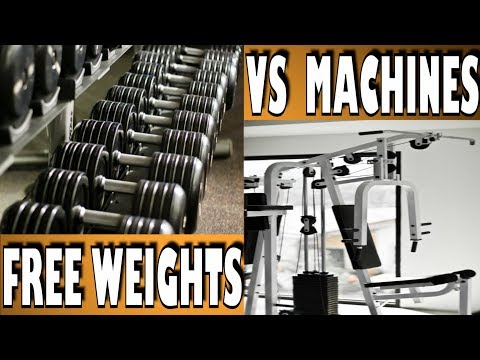 free weights vs machines essay The comparison between free weight training and weight machine training has been a topic of discussion in the fitness industry for some time, and this article.