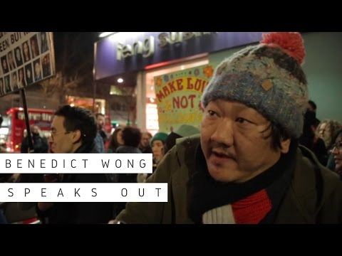 Benedict Wong speaks out about 'yellowface' casting at the Print Room Theatre