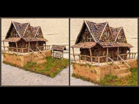 Поделка дом из природного материала своими руками