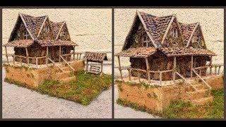 Поделка домик из природных материалов / Diy Fairy house