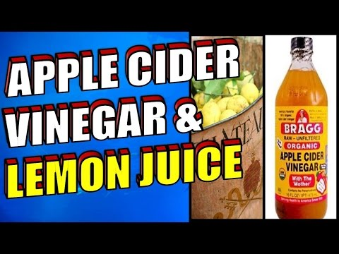 the-benefits-of-apple-cider-vinegar-&-lemon-juice-for-weight-loss-and-healthy-skin