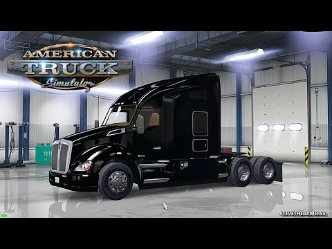 AMERICAN TRUCK SIMULATOR - LOS ANGELES TO FRESNO - FIRST SPEEDING TICKET