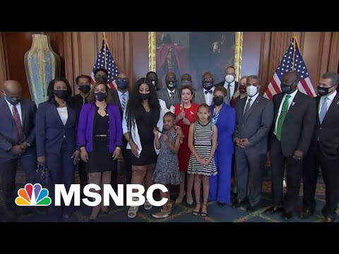 Family Of George Floyd Meets With Speaker Pelosi | MSNBC