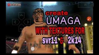 Maak UMAGA voor wwe svr11/ 2k14 met texturen door K VERMAKEN