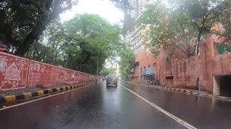 4K Drive on Malabar Hill's Winding Roads | Mumbai, IN