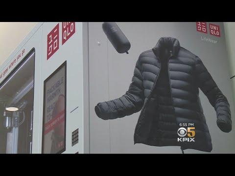 SFO Vending Machine Sells Jackets To Bay Area Summer Tourists
