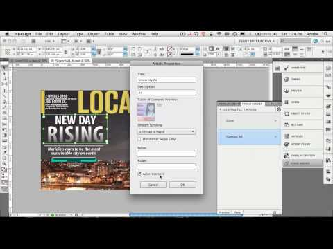 Take Your Interactive Document From InDesign to iPad Wirelessly