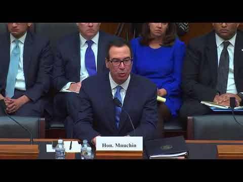 Rep. Heck questions Treasury Secretary Mnuchin about banking access for marijuana businesses