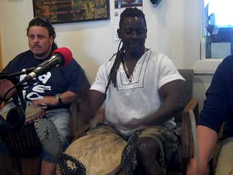 "Cape Cod African Dance and Drum visit ""Organic Thinking Radio"""