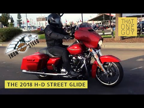 2018 Harley-Davidson Street Glide test ride | Great style. Comfortable ride