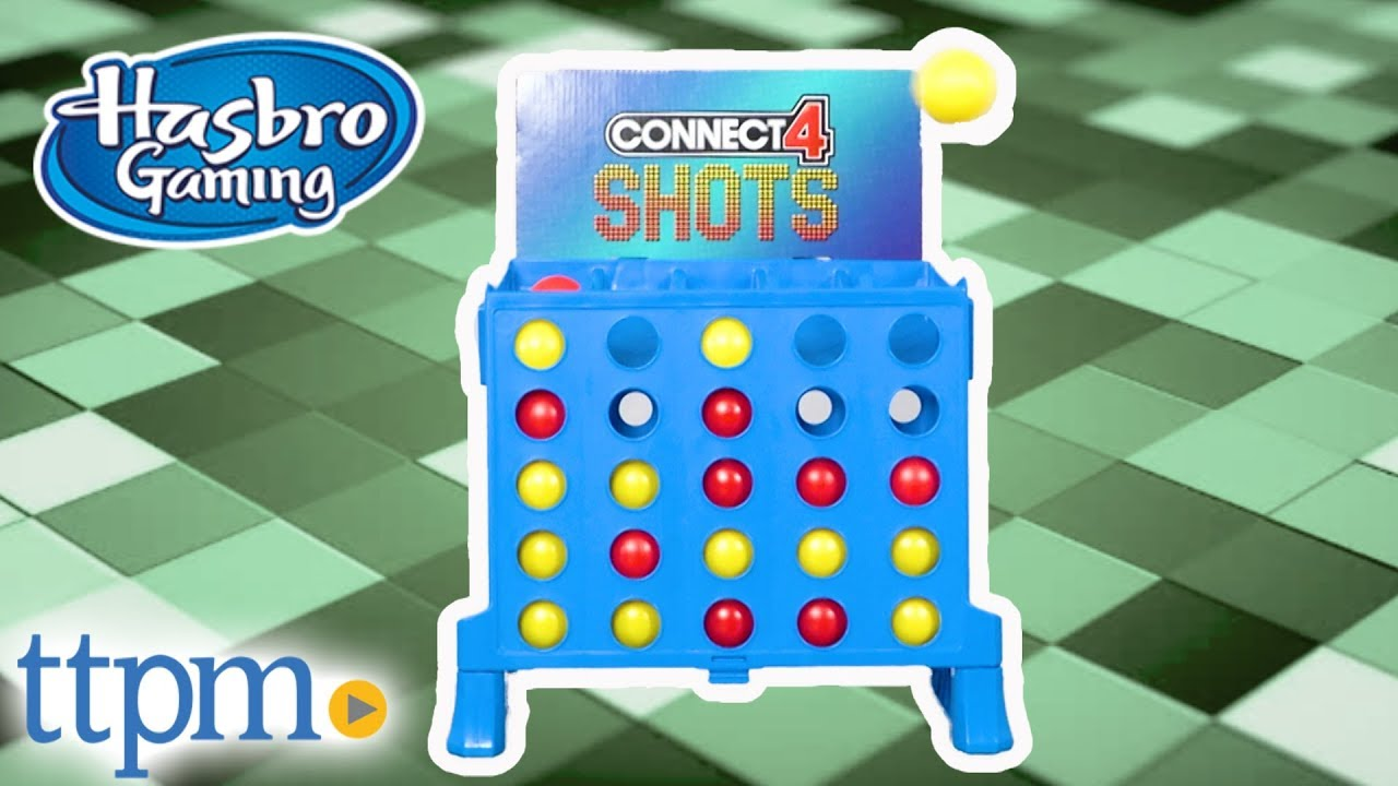 Connect 4 Shots From Hasbro