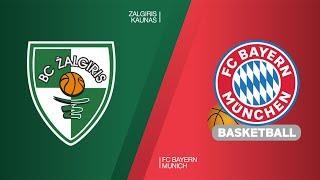 Zalgiris Kaunas - FC Bayern Munich Highlights   Turkish Airlines EuroLeague RS Round 26