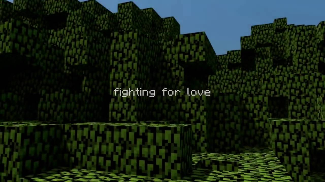 fighting for love minecraft lyrics