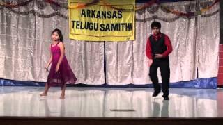 Pujitha Kaza & Adithya Dance @ 2013 Dasara Sambaralu (ARTS)