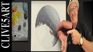 How to blend | learn to paint | Refined Blending | Acrylic, painting for beginners | #clive5art