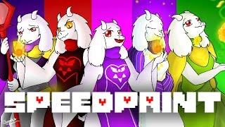 SpeedPaint! Alternative Universe Toriel! (Undertale AU