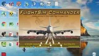 Como baixar e instalar o Flightsim commander