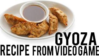 Video Game Recipe GYOZA!!