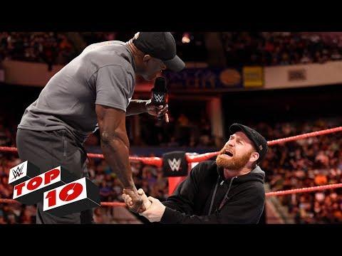 Top 10 Raw moments: WWE Top 10, May 28, 2018 thumbnail
