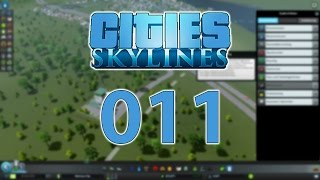 CITIES: SKYLINES #011 - Recycling-Center | Let