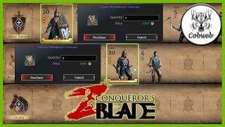 Conqueror's Blade Премиальные куски г ... ой тоесть отряды