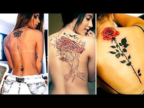 Incre�bles Tatuajes para la Espalda 2018 Ser Bonita