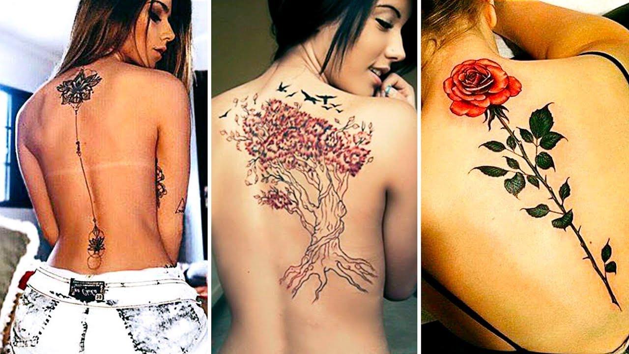 Increíbles Tatuajes para la Espalda 2018 Ser Bonita - YouTube