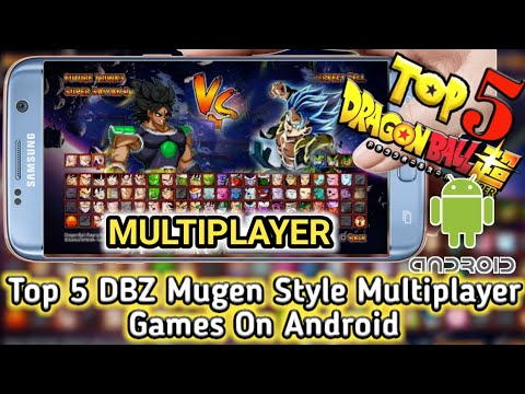 Top 5 DBZ Mugen Style Multiplayer Games On Android APK Under 100 MB Download