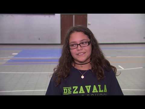 De Zavala Middle School Trophy Presentation