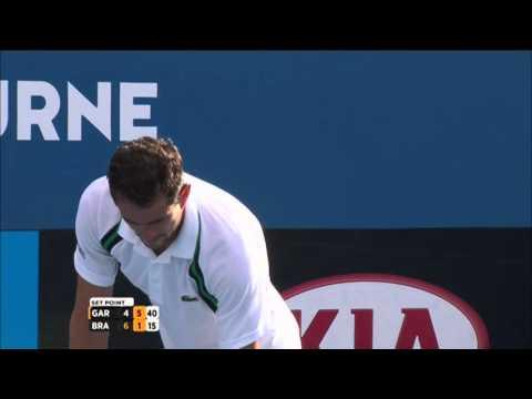 Guillermo Garcia-Lopez v Daniel Brands highlights (2R) | Australian Open 2016
