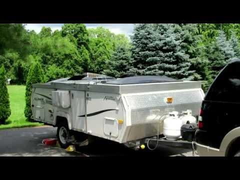 installing solar panels on my aliner classic part 1 youtube rh youtube com 30 Amp RV Wiring Diagram Camper Trailer Wiring Diagram