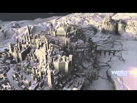 The Hobbit: The Battle of the Five Armies VFX | Breakdown - Erebor Valley | Weta Digital