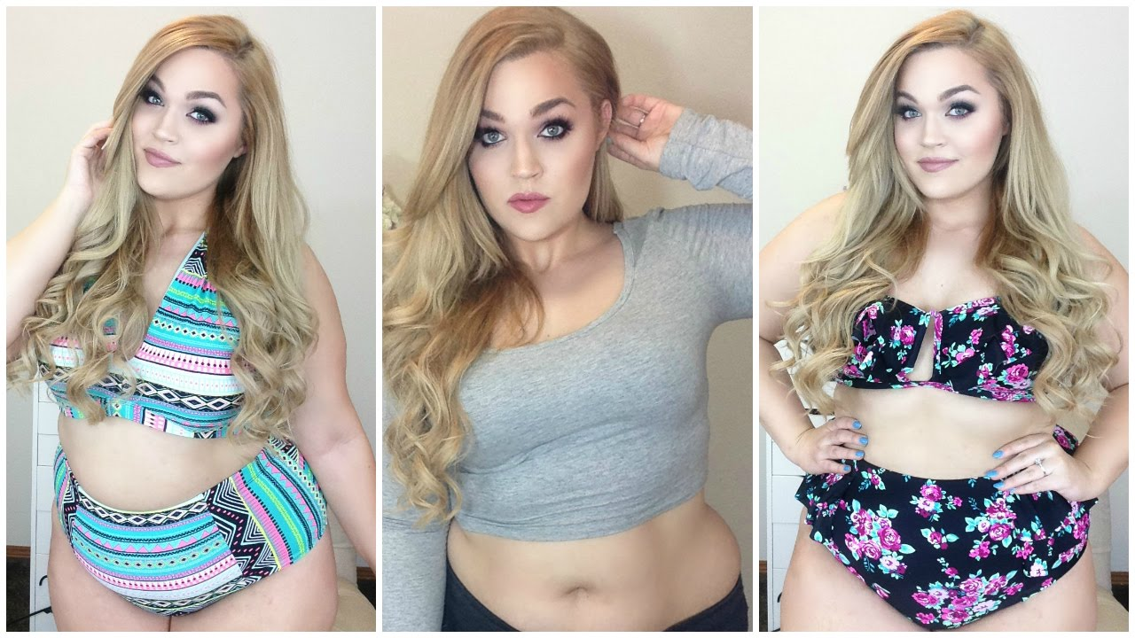 15e46d6674 Forever 21 Haul + Try-On  Plus-Size Bikinis
