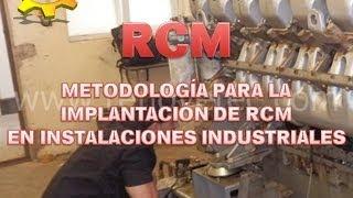 VIDEO CURSO 7 (completo): Elaboración del plan de mantenimiento basado en RCM