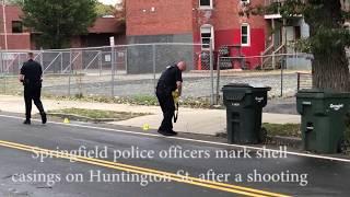 Springfield police investigate shooting on Huntington Street