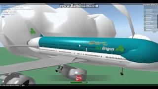 roblox aer lingus a380 flight to charlotte