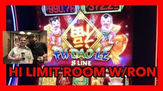SLOT MACHINE PLAY ON BUFFALO GOLD & HIGH LIMIT FU DAO LE | NorCal Slot Guy