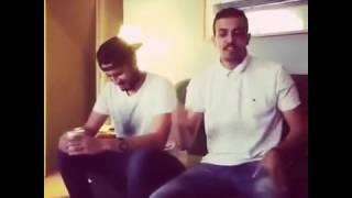 سعودي يغني ليبي هيا دبريلي احترت معاك
