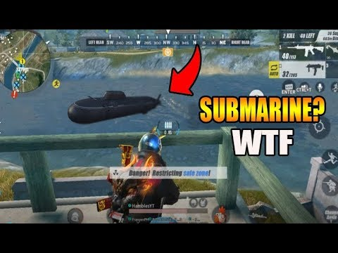 A SUBMARINE!? (Rules of Survival: Battle Royale)