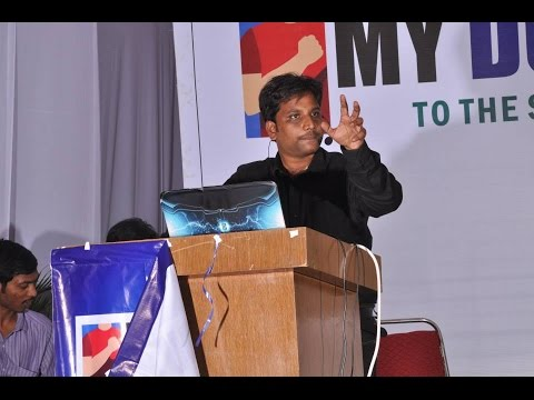 Ways to Earn Money Online By Sai Satish at Khammam Impact 2014
