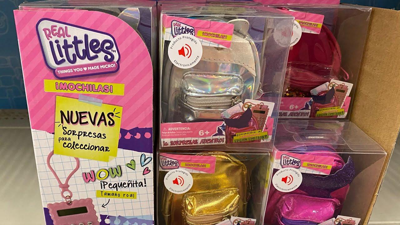 Mini Mochilas Real Littles Coleccion de Caro Y Karla ► Juegos Juguetes y Coleccionables